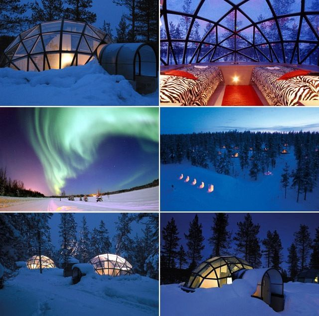 Rent A Glass Igloo In Finland And Sleep Under The Northern Lights.