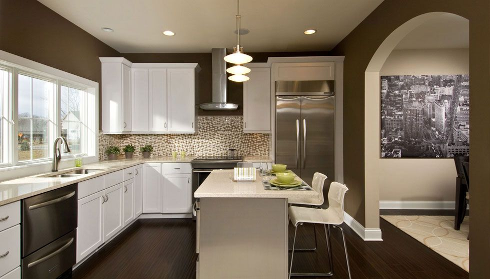 We love arches and also great kitchens. Barbera Homes in ...