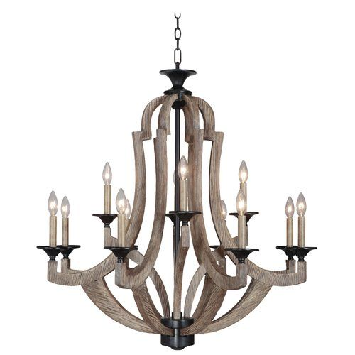 Marcoux 12 Light Candle Style Chandelier Birchlane Bronze Chandelier Candle Chandelier Candle Style Chandelier