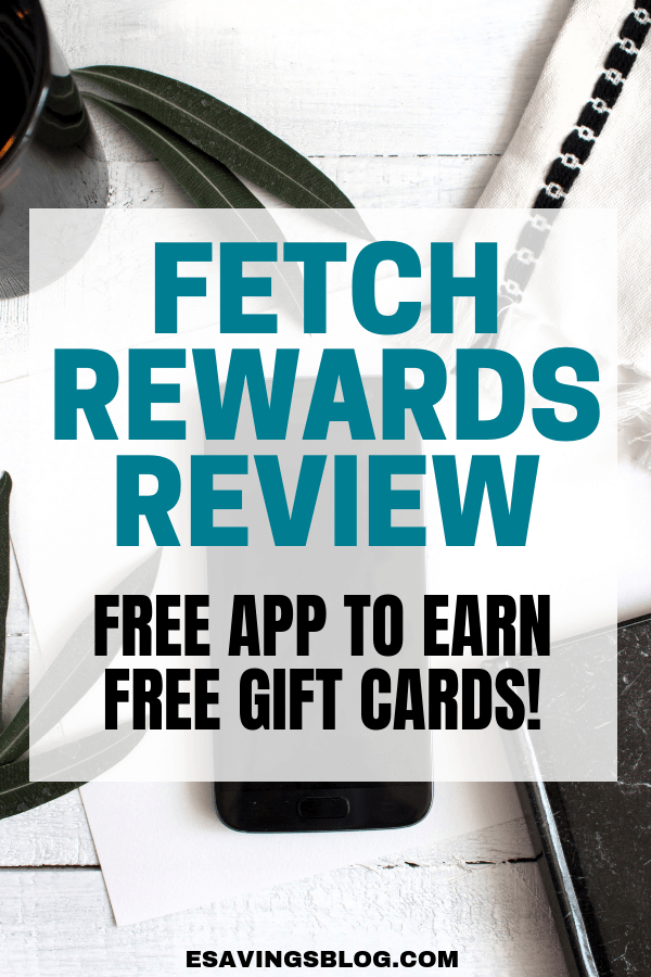 Free Gift Cards for Your Receipts! Fetch Rewards App