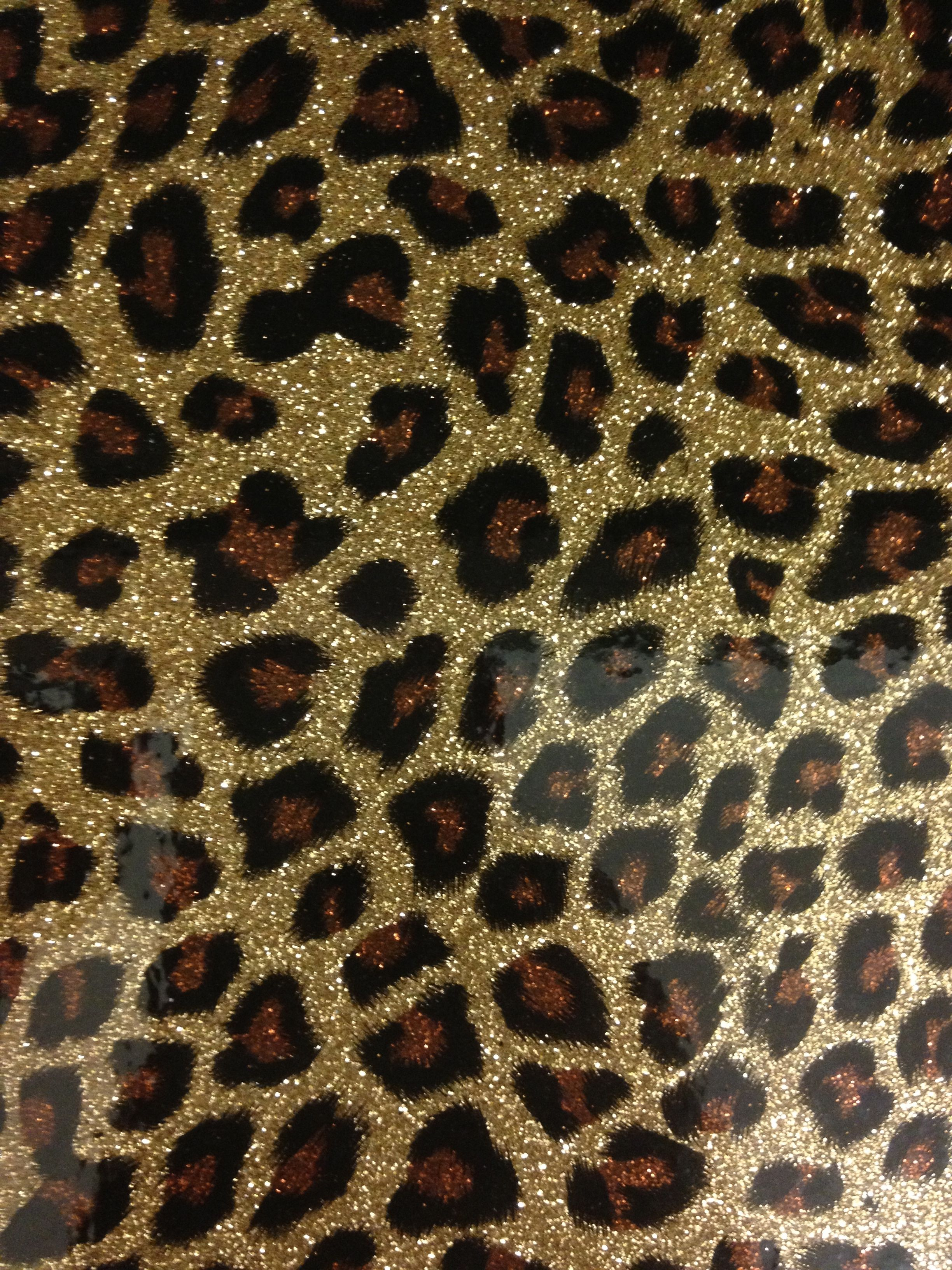 Leopard Print Wallpaper Bedroom Black Brown Gold Leopard Print Glitter Graphic Designss