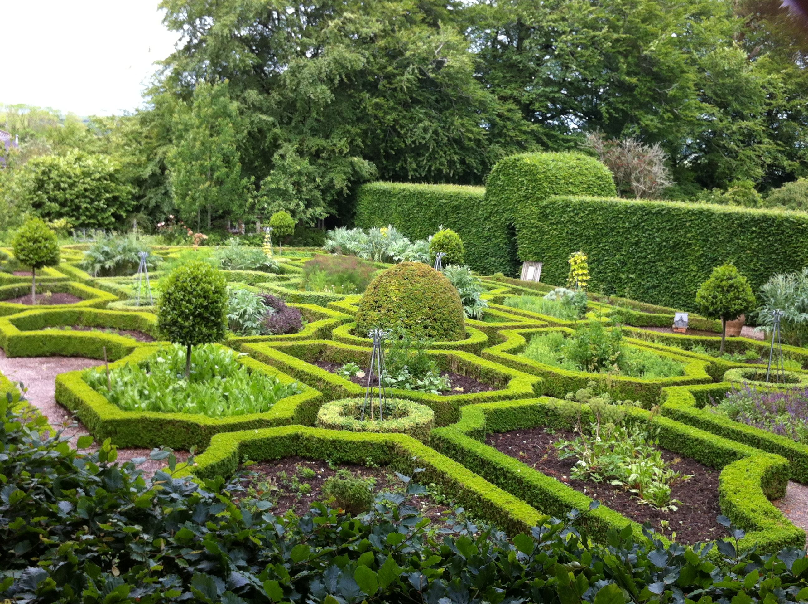 Chef Darina Allen S Garden Co Cork Allen Gardens Scenery Parterre