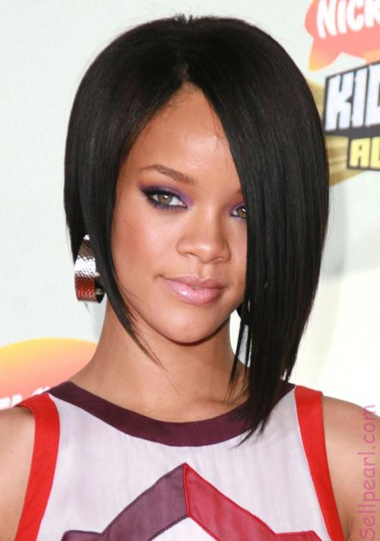 Short Hairstyles Rihanna Awesome Black Graduated Bob Hairstyle Graduated Bob Hairstyle Pictures Lo Bob Hairstyles Rihanna Short Haircut Short Bob Hairstyles