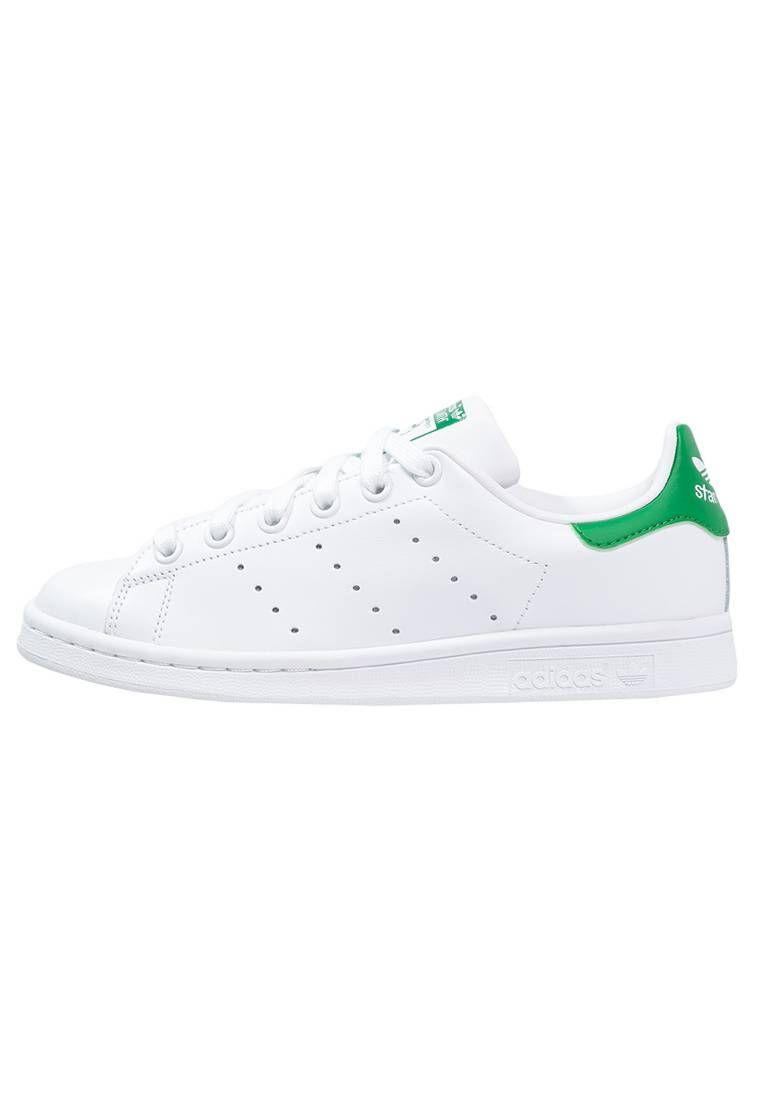 best website 0aa3c b8c17 adidas Originals. STAN SMITH - Sneakers basse - running white green. Fodera