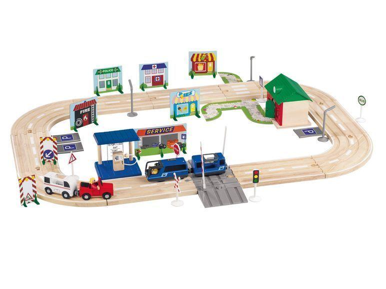 Details zu Brio Kurze Gerade Schienen Zug Eisenbahn Holz
