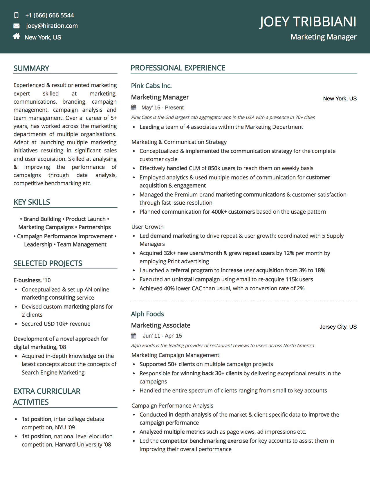 Professional Resume Template Free Best Of Resume Maker