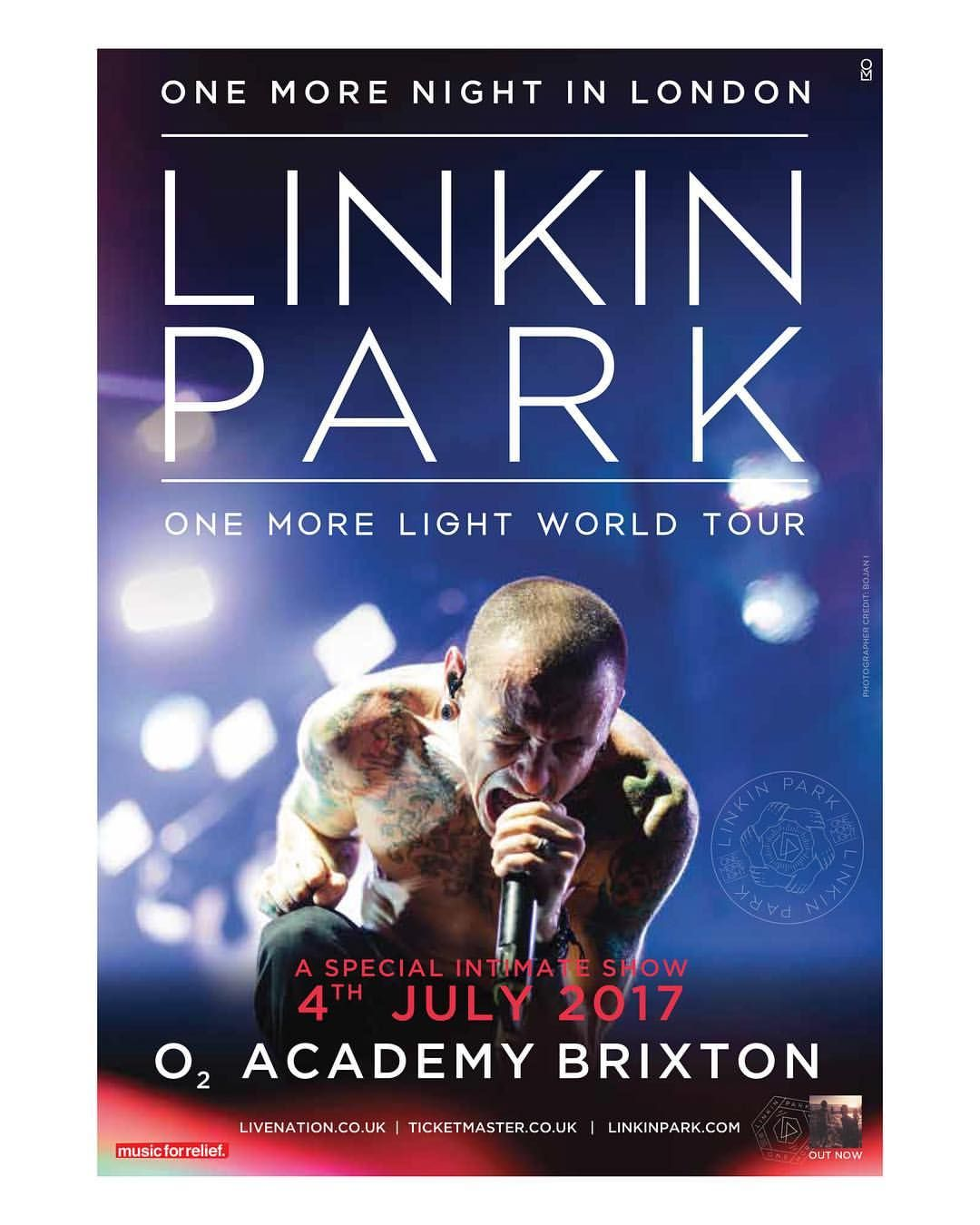 c0073e25a64830 Pin by tranquil on Music & Musicians / Grammy's | Linkin park, One more  night, Brixton