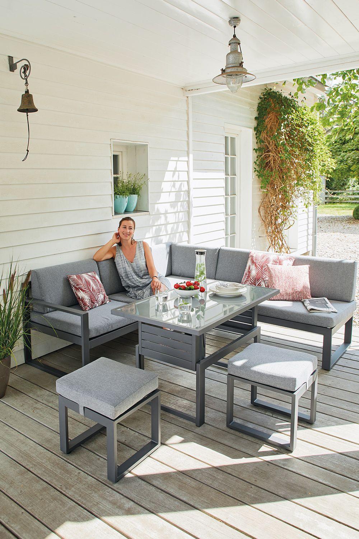 Alles Furs Gemutliche Beisammensein Lounge Mobel Balkon Outdoor Sofa Sets Kleiner Balkon Design