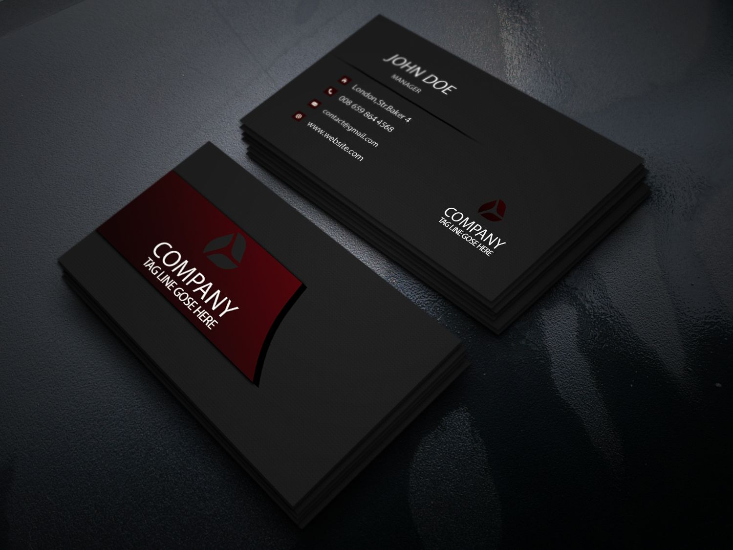 business card #business #psd #print #temple #business-card #layer ...