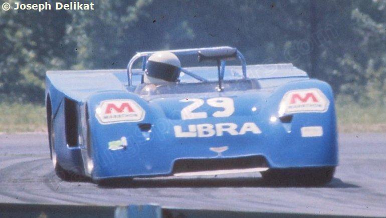 29 - Chevron B21 Ford - Libre International Racing Watkins Glen 6 hrs 1972 Driven by: Fred van Beuren, Jr. (MEX)/John Buffum (USA)