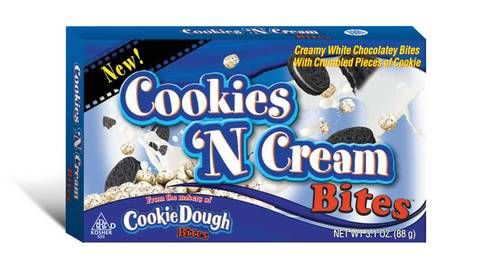 cookie dough bites cookies and cream - Google Search