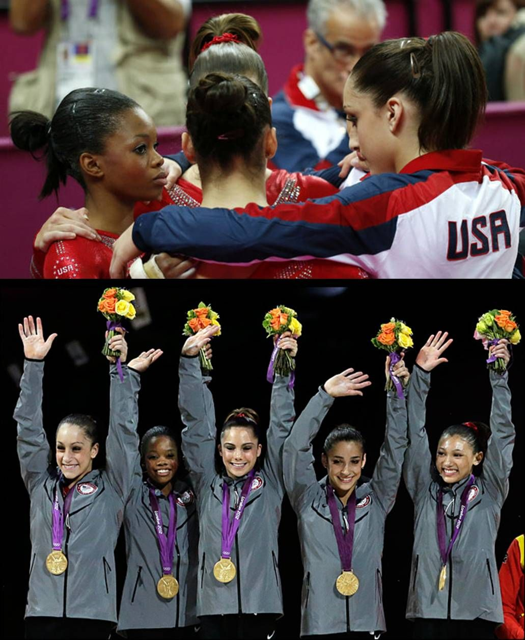 The Olympic Games Medal Winners On Day Four With Images Olympic Gymnastics Team Usa Gymnastics Olympic Games