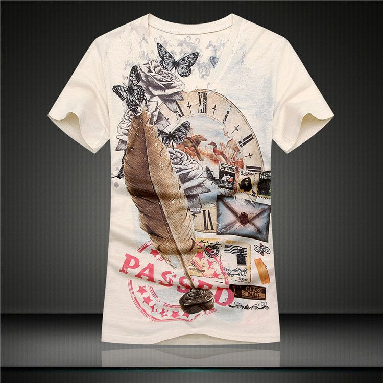 Aliexpress.com: Comprar Hombres de La Camiseta 2015 Verano Estilo ...
