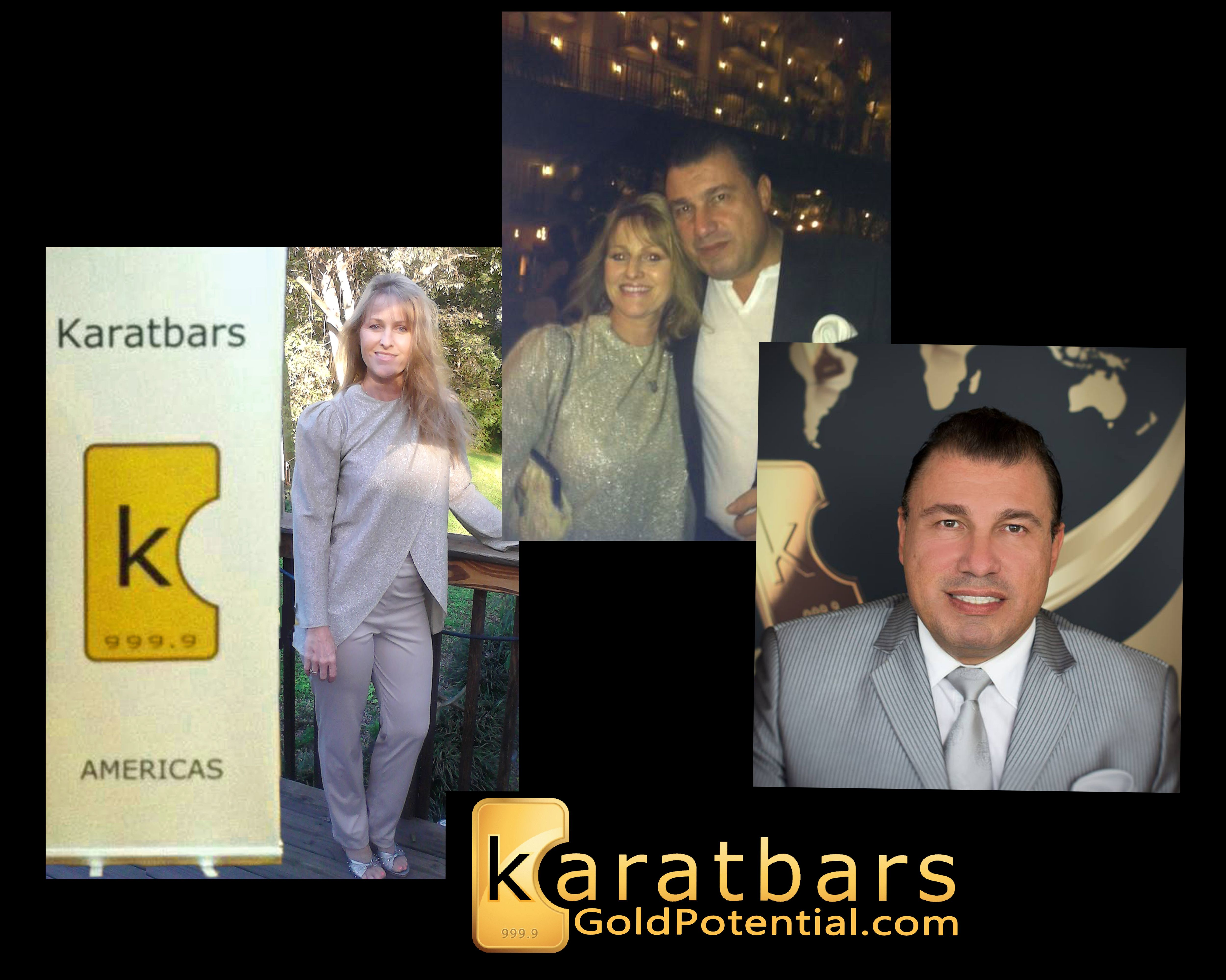 Karatbars International , Andrea Capps Affiliate and Harald
