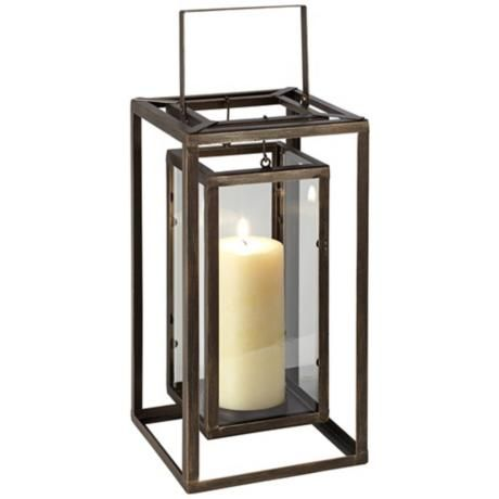 Savannah Indoor/Outdoor Lantern Candle Holder