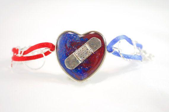 Chd Awareness Bracelet Con Heart Defect Jewelry By Jewel4u Heartdefect