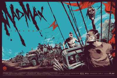 Mad Max Fury Road fan art by Mondo