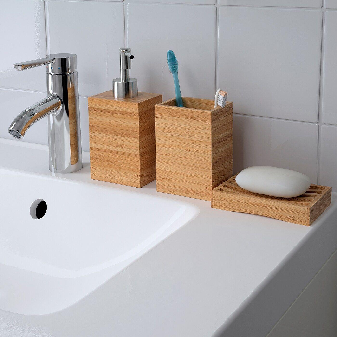 Dragan Seifenschale Bambus In 2020 Bambus Badezimmer Seifenspender Und Badezimmer Accessoires