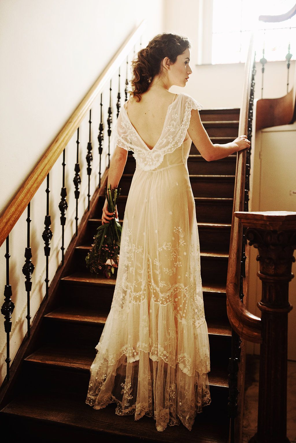 beautiful bridal inspiration with edwardian wedding dresses