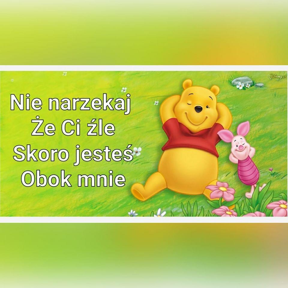 Nie Narzekaj Ze Ci Zle In 2020 Winnie The Pooh Pooh Character