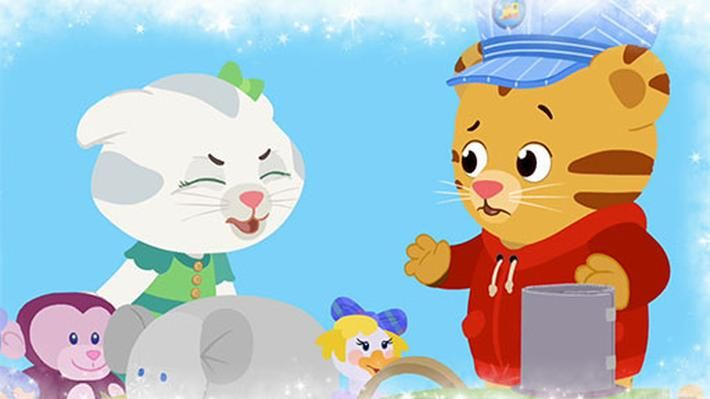 <p>Daniel and his friends sing about using their words so that others can know how they feel. Teach kids to use their words to express their feelings.</p>