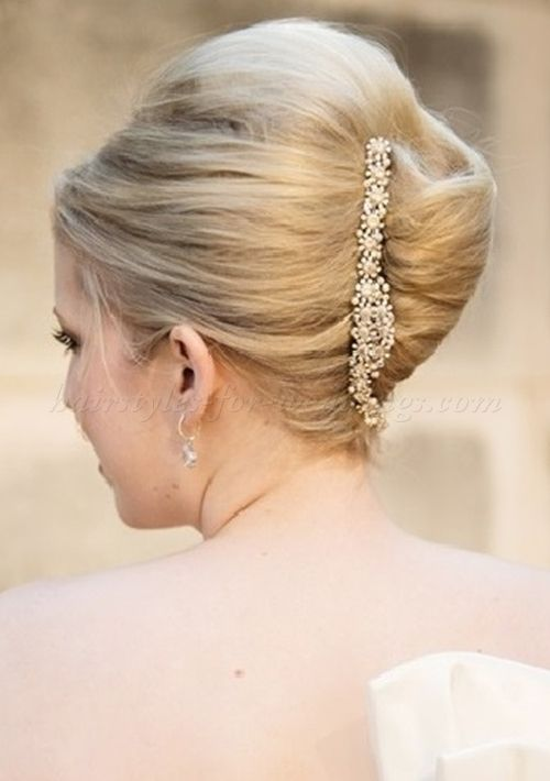 French Hairstyles inside out side braid hairstyle for long hair French Twist Hairstyles For Brides French Twist Wedding Hairstyle