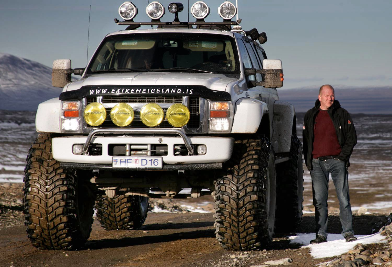 Are you coming? ) Offroad trucks