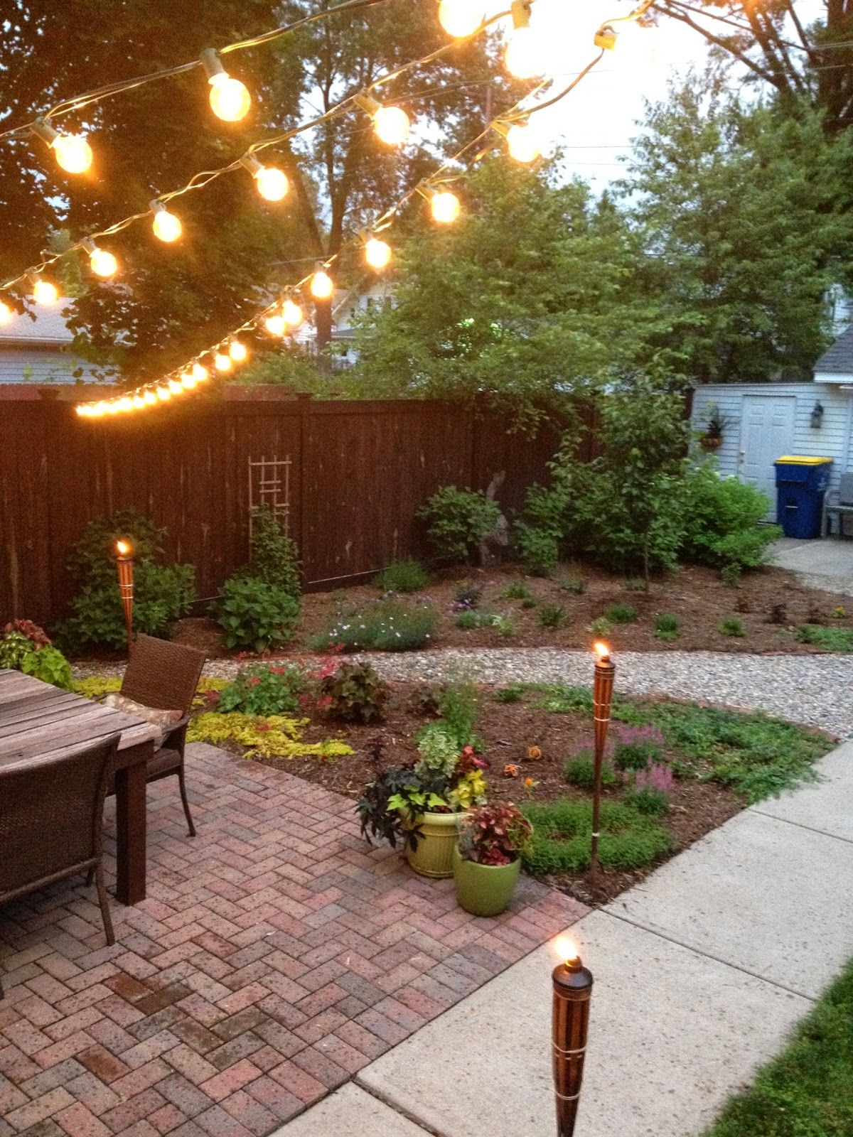 Outdoor Summer Lighting   Hoosier Remodel   Life\'s a Garden, Dig it ...