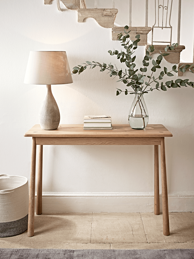 Slim And Elegant In Shape, Our Scandinavian Inspired Console Table Has  Slender, Tapered Legs To Give A Beautiful Silhouette And Will Sit Perfectly  In Your ...