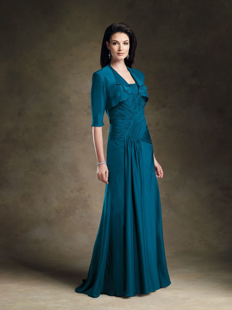 25 Beautiful Mother Of The Bride Dresses | Bride dresses, Groom ...