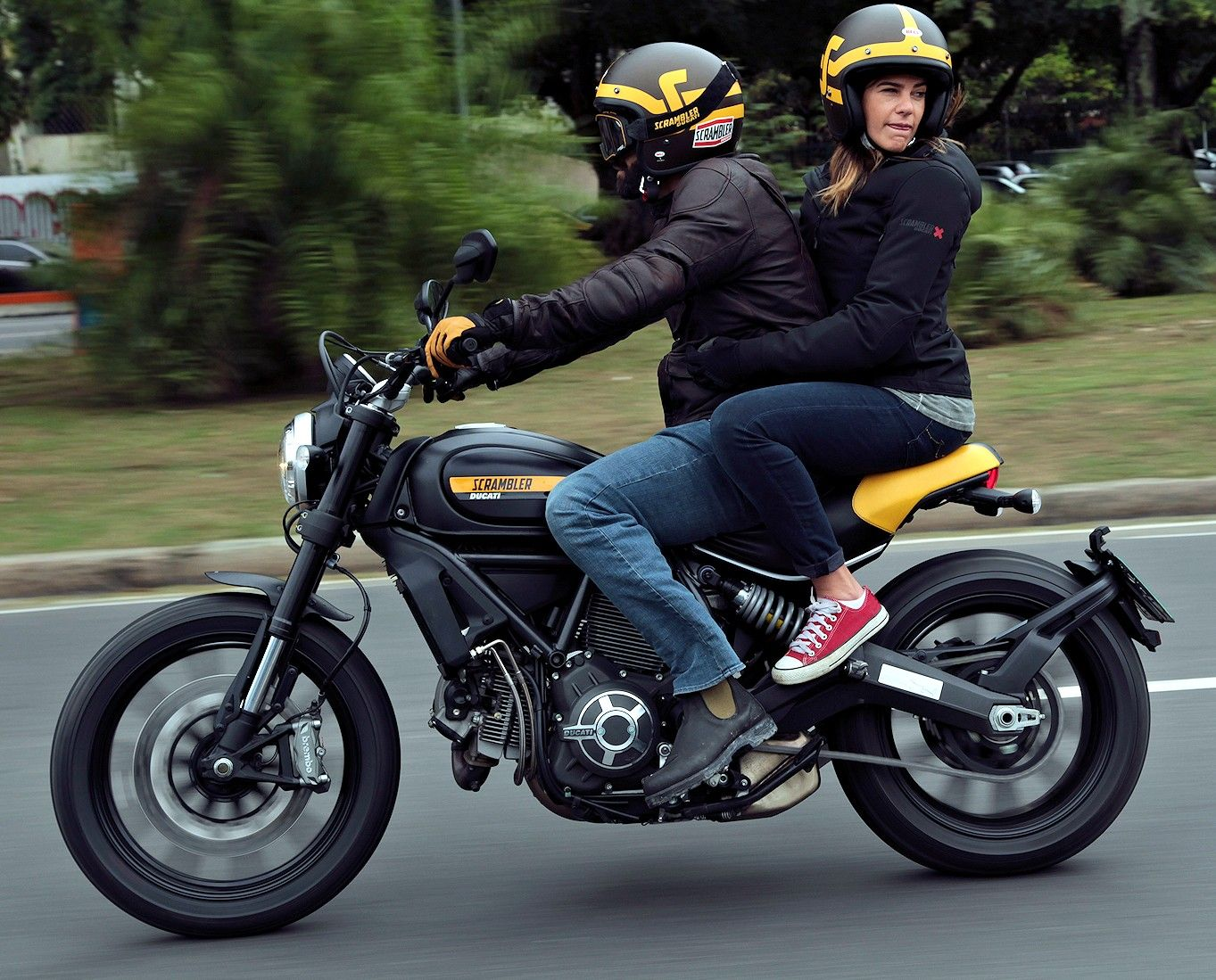 ducati scrambler full throttle | black-yellow | pinterest | ducati