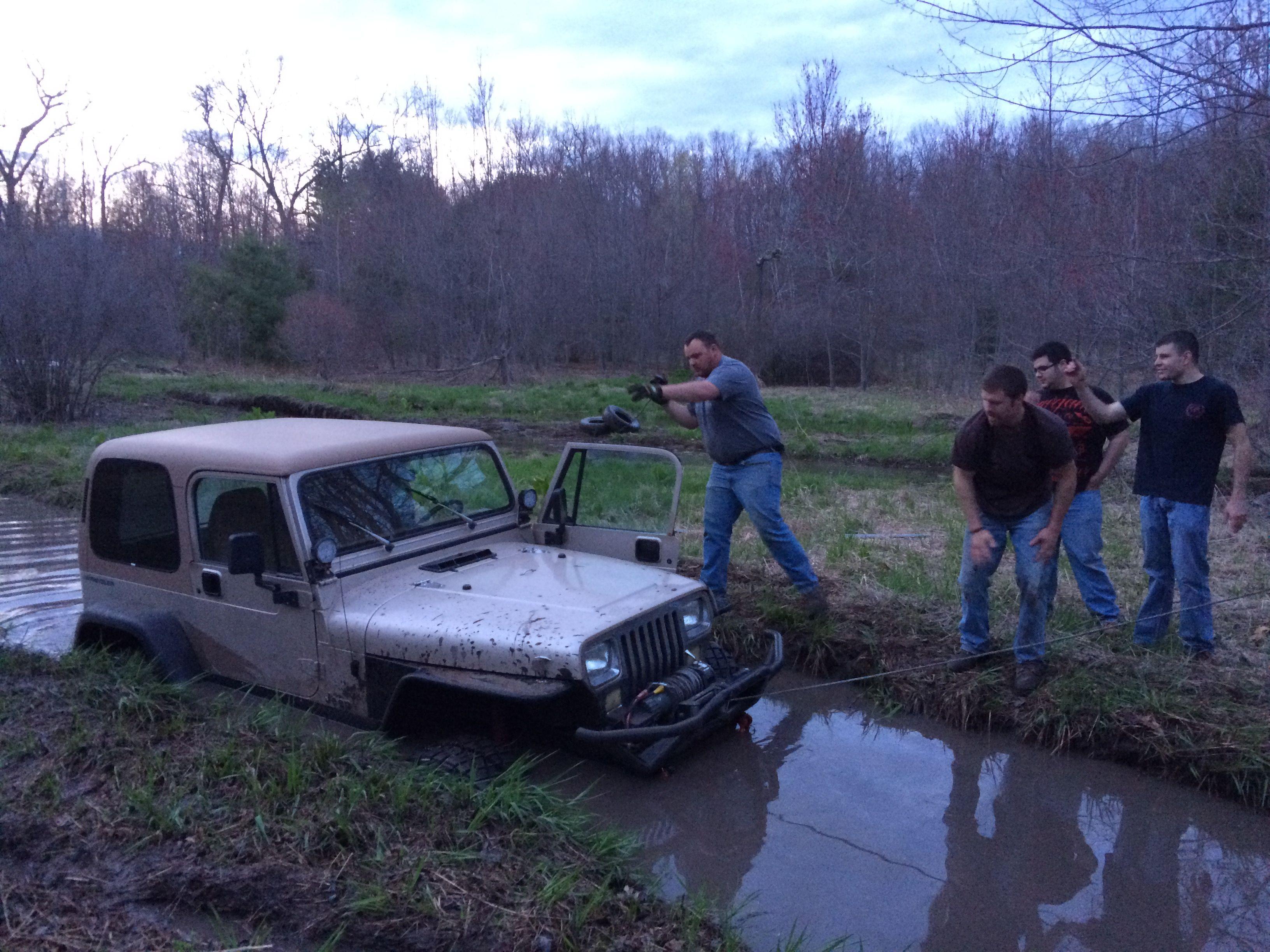 Mudding Up Green Rd Ellington Ct Mudding Jeep Ellington