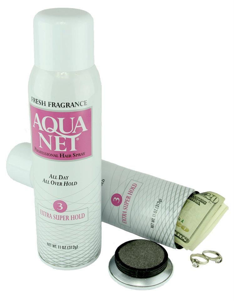 Aqua Net Keepsafe- for those precious valuables