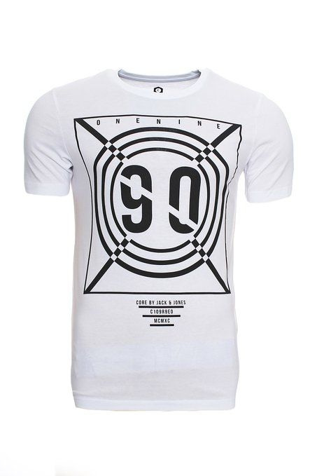 Jack & Jones INSPIRIERTES - Camiseta print - white kRy8J4a7qS