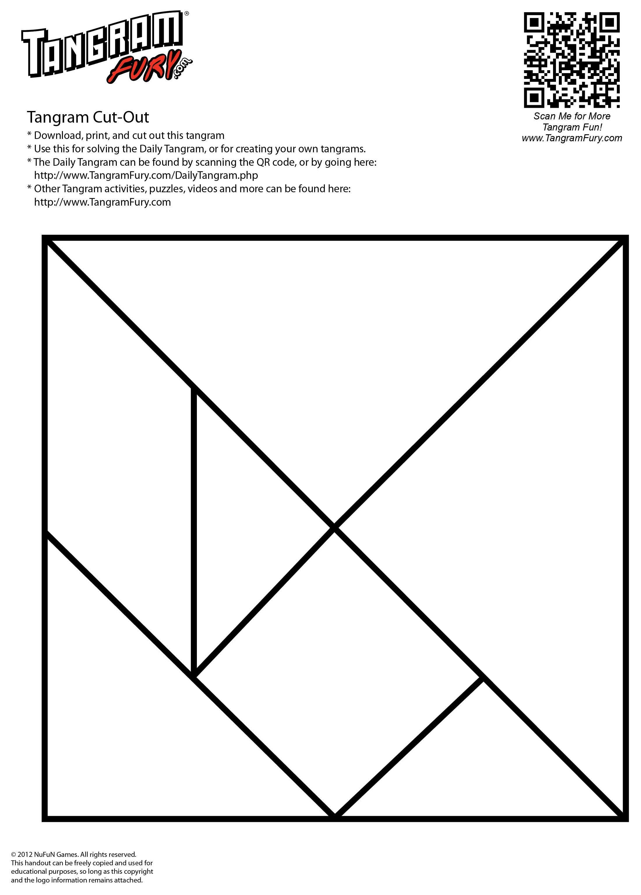 Free Tangram Sheets