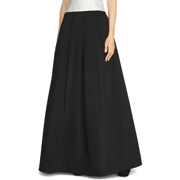 White House Black Market Taffeta Ball Skirt ($160) ❤ liked on ...