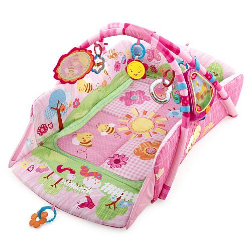Bright Starts Baby Playplace Pink Bugs Cool Baby Stuff Baby Play Gym Bright Starts