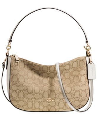 7bf161d61c4d COACH Coach Chelsea Crossbody In Signature Jacquard.  coach  bags  shoulder  bags  hand bags  crossbody  lining