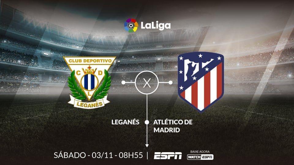 Como assistir Leganés x Atlético de Madrid AO VIVO em tempo real ... 2e1a351bf6af7