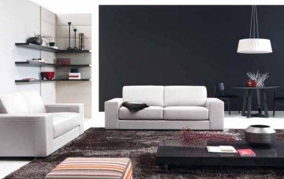 Varios Estilos de Living Rooms por Natuzzi : La Sala y Comedor