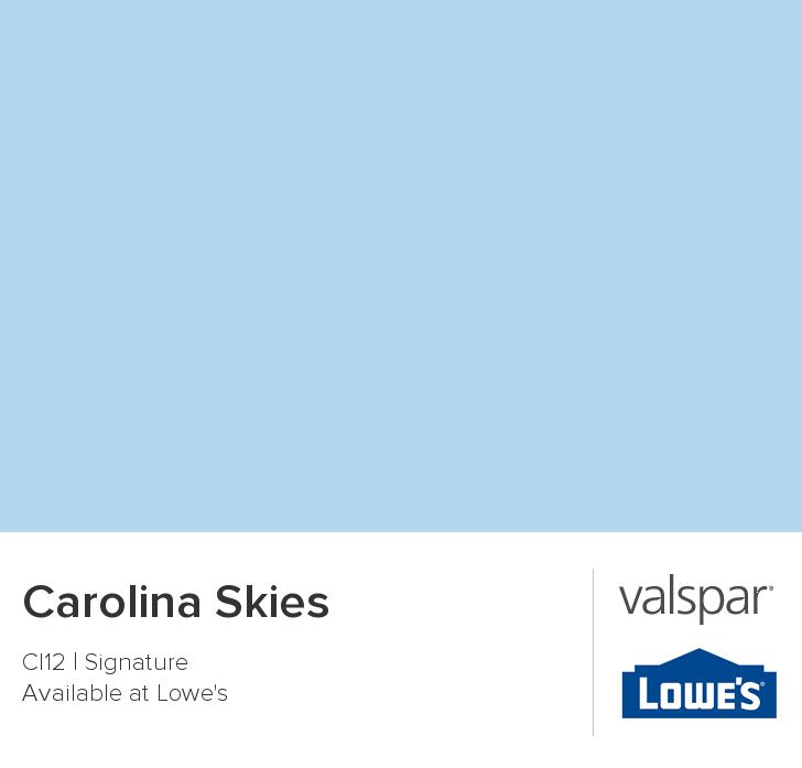 Valspar Paint Color Chip Carolina Skies Bedroom Pinterest Valspar Paint Colors