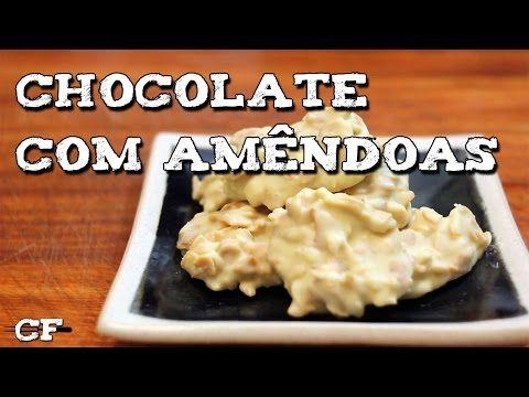 Docinho de chocolate branco e amêndoas @CookFork - YouTube