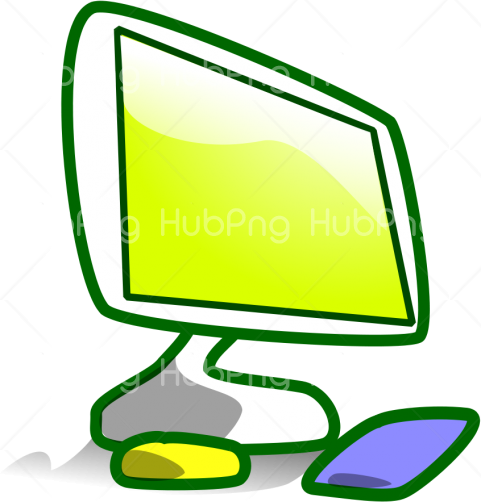 Transparent Background Computer Images Clip Art