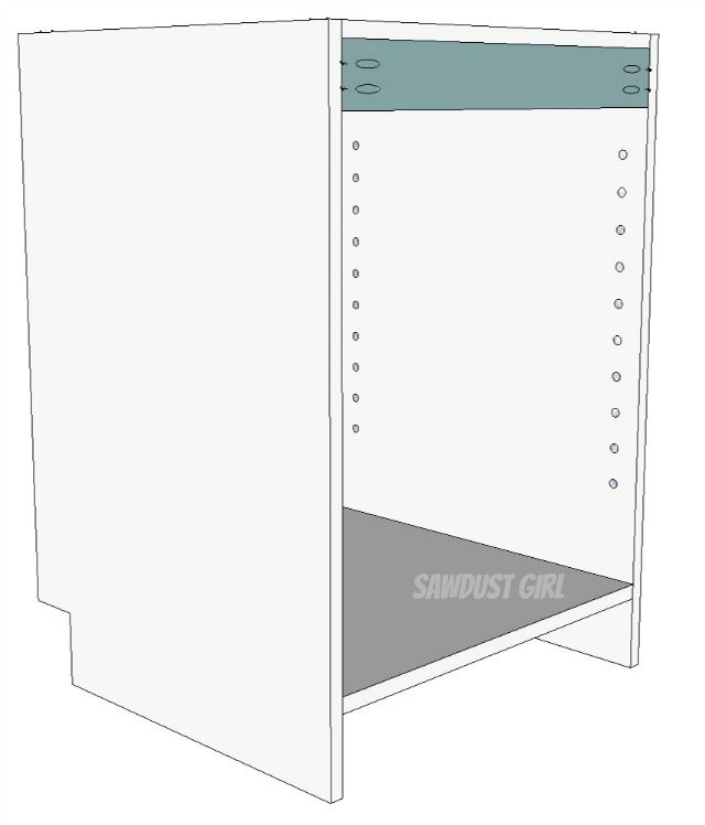 How to build a cabinet with pocket hole screws | Pocket ...