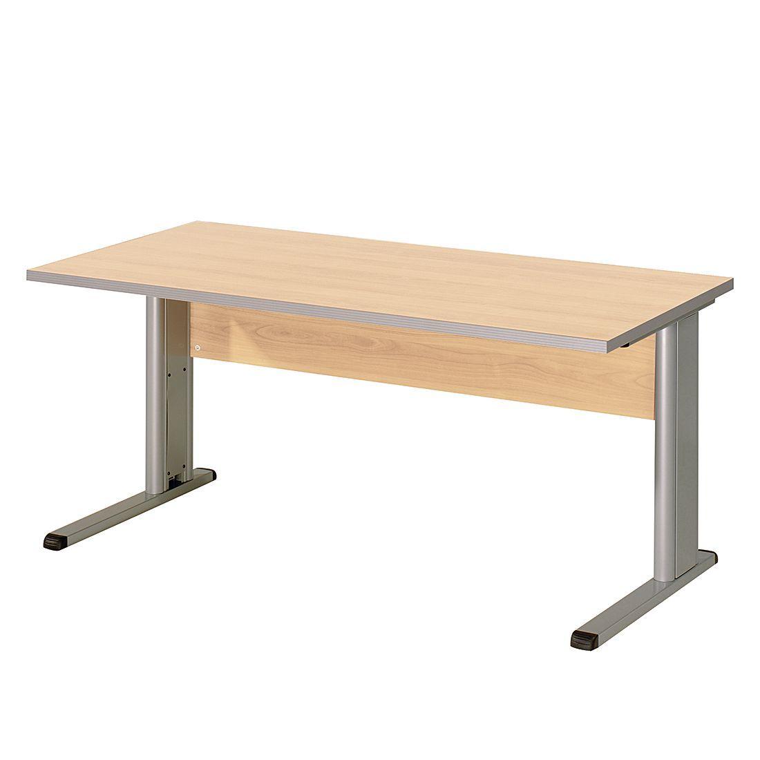 Schreibtisch Kirk I - Ahorn Dekor - Tischplatte: 160 x 80 cm ...