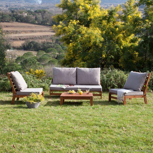 Emejing Salon De Jardin Morocco En Bois Photos - Amazing House ...