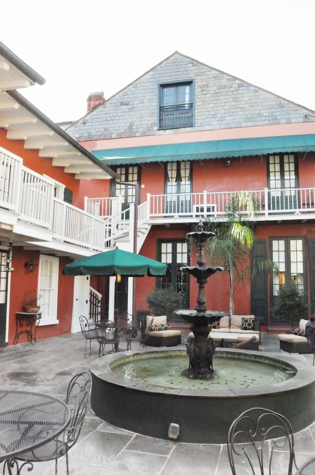 new orleans hotel maison de ville review the classic brunette rh pinterest com  where to stay in new orleans for a bachelorette party