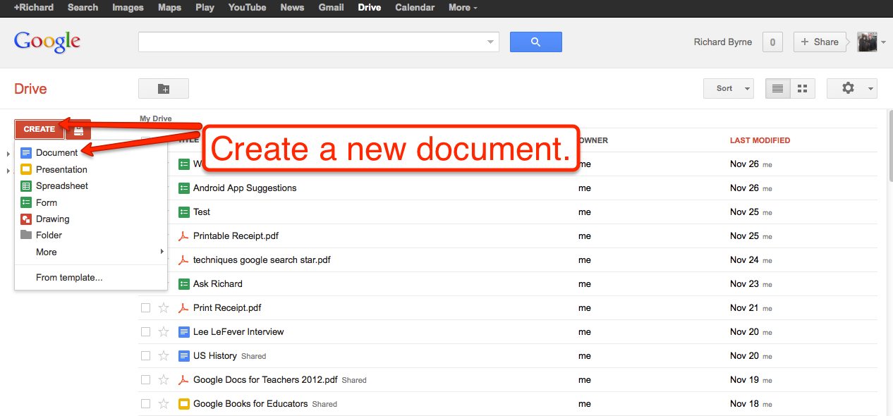 How to Create PDFs in Google Drive in Three Steps
