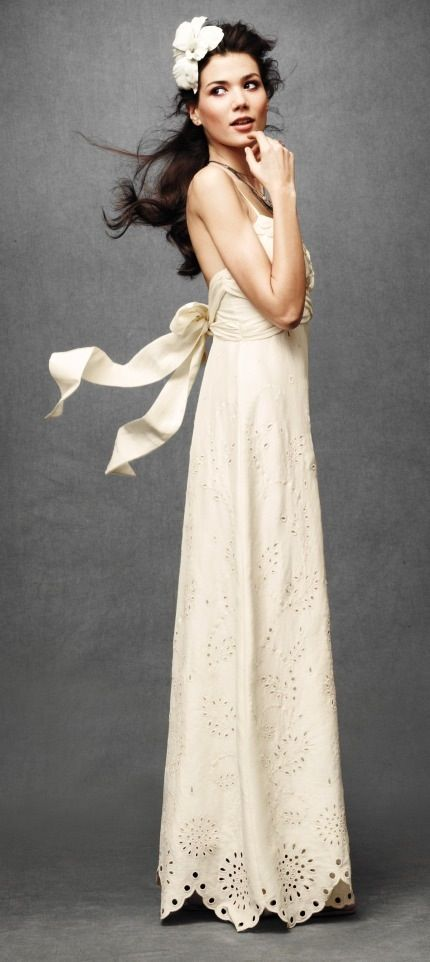 Anthropologie Wedding Dress Simple And Pretty Is It Weird To Get A