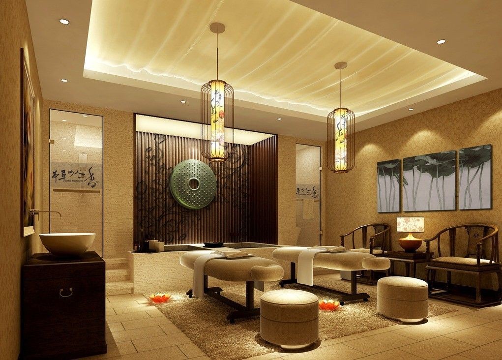 Salon Style Oriental : Continental massage room design chines style reiki